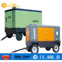 0.7-2.2 Mpa Dieselmotor Luftkompressor für den Bergbau