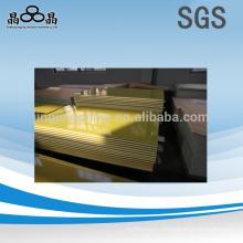 Хорошие желтые листы из стекловолокна 4x8