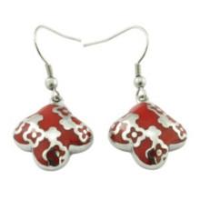 Charm Customized Hoop Enamel Wedding Earring