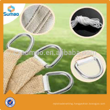 Sun sail shade cloth sail for cafes in America market
