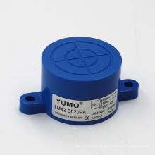 Yumo Lmf42 Sensing Sensor de proximidad inductivo de 20 mm de distancia