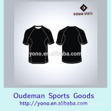 Camisetas de hombre de desgaste de fitness en blanco sublimada impresa por encargo