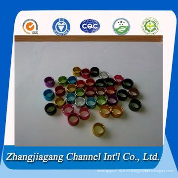 1050 color anodizado tubo de aluminio de anillo de Paloma