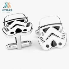 Botão de punho feito sob encomenda do metal de Star Wars do preço fattivo do fornecedor do ouro para relativo à promoção