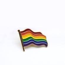 Wholesale Gay Pride Rainbow Enamel Lapel Pin