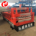 Double deck lapisan atap mesin rolling sheet