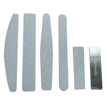 Private Label EVA Form Pads Diamond Zebra Nail File Stainless Steel Basics