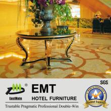 Mesa moderna de la flor del escritorio del vestíbulo del hotel de la estrella (EMT-FD11)