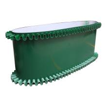 1mm 2mm 3mm 4mm Green White Black Food Grade Price Sidewall Chevron Diamond Edge Seal pvc Conveyor Belt