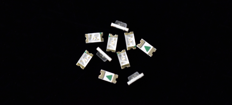 Green SMD LED 0603