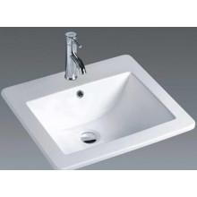 Fregadero de cerámica del cuarto de baño del estilo europeo (7092)