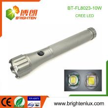 Factory Wholesale Best Heavy Duty Metal Tactical 10W Cree xml2 t6 Big Large La plus puissante torche à lampe LED avec batterie 3 * D