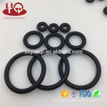 Anillo O negro de alta calidad NBR 70 Anillo de junta tórica de caucho de nitrilo Sellador Buna oring Kit de anillos mecánicos