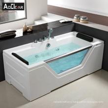 Aokeliya acrylic  cheap price rectangular small whirlpool jetted bath tub