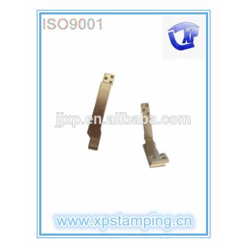 Pièces d'estampage métallique à chaud, accessoires électriques plaque de contact