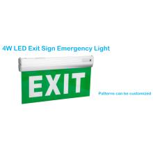 Lumière d'urgence de chargement de signe de sortie d'intérieur 4W