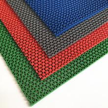 Shandong factory shower room slip-resistant PVC S mats