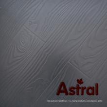 Ламинированные полы (AT006) Зарегистрированная поверхность с тиснением (V-Groove)