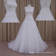 Charming Style Satin Simple Wedding Dresses
