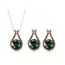 2016 nouveau produit derniers articles cadeaux ensemble d'accessoires de mode, ensemble vintage bijoux en forme