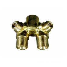 High Quality CNC Machining Parts Brass Valve