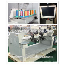 multi head cap&t-shirt computer controlled embroidery machines 1202C WONYO