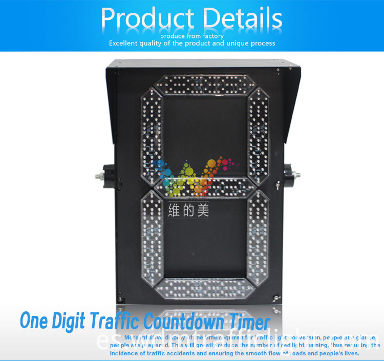 400mm led countdown timer