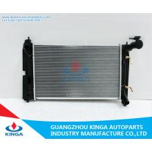 Radiador automático de aluminio de la mejor calidad para Toyota Corolla 01-04 Zze122 en