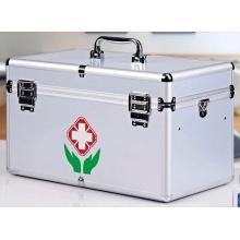 Caja de Medicina Multifuncional Portátil de Aleación de Aluminio (sin Medicina)
