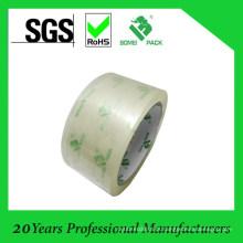 Fita transparente de BOPP para a caixa de embalagem com impressão do logotipo