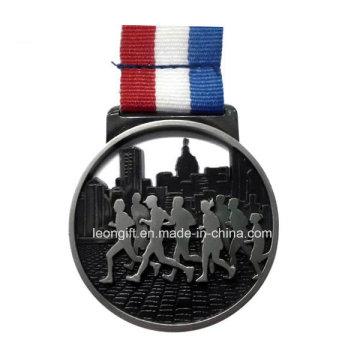Оптовые продажи 3D марафон работает пользовательские медаль
