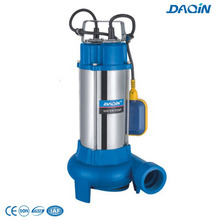 V1100df Steel Stainless Sewage Submersible Pumps with 8m Cable