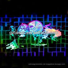 Hologramm-Beschichtung, Edelstahl-Teller