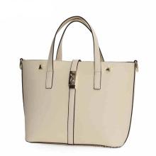 Design Women PU Leather Tote Bag Handbag with Long Shoulder Strap (WZX1083)