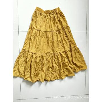 Summer Woman Skirts Lady Long Ruffles Skirts