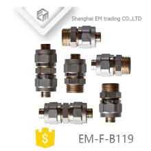 EM-F-B119 Al-pex-Al união de rosca macho encaixe de tubulação