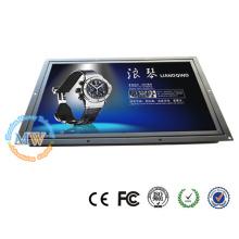 1440X900 résolution ouverte cadre 17 pouces écran tactile LCD avec HDMI VGA DVI