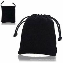 Custom Logo Color Jewelry Velvet Pouch Drawstring Gift Bag Jewelry Packaging Bag