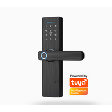 Absolutely Amazing Automatic Operation tuya app and TTlock Electric Fingerprint Password smart Digital  Door Lock