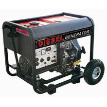 4kw eléctrico manual de arranque eléctrico diesel grupo electrógeno