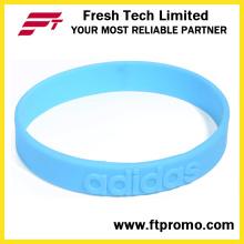 Moda pulseira de Silicone esporte com personalizado