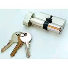 Brass Cylinder Lock, Interior Door Cylinder Lock (AL-1106)