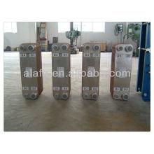 Soldar placa intercambiador de calor juego de pequeño caudal o alta temperatura, fabricación de intercambiadores de calor