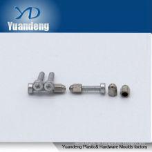 Kleine Aluminium-Innensechskantschraube