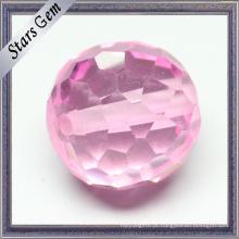 Facetada Círculo Cúbico Zirocnia Gemstone Beads