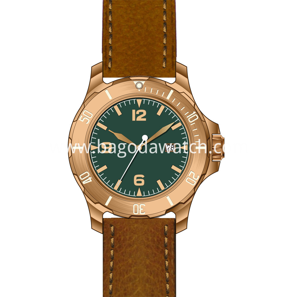 Cusn8 Bronze Watch