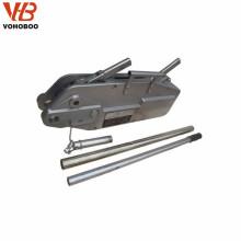 Alzamiento de la palanca de la cuerda de alambre del precio de fábrica, alzamiento de tracción de acero del cable del bloque de la palanca