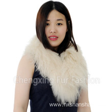 Genuine Tibetan Lamb Fur Scarf