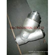 Hochdruck-C-Stahl-Y-Typ-Sieb