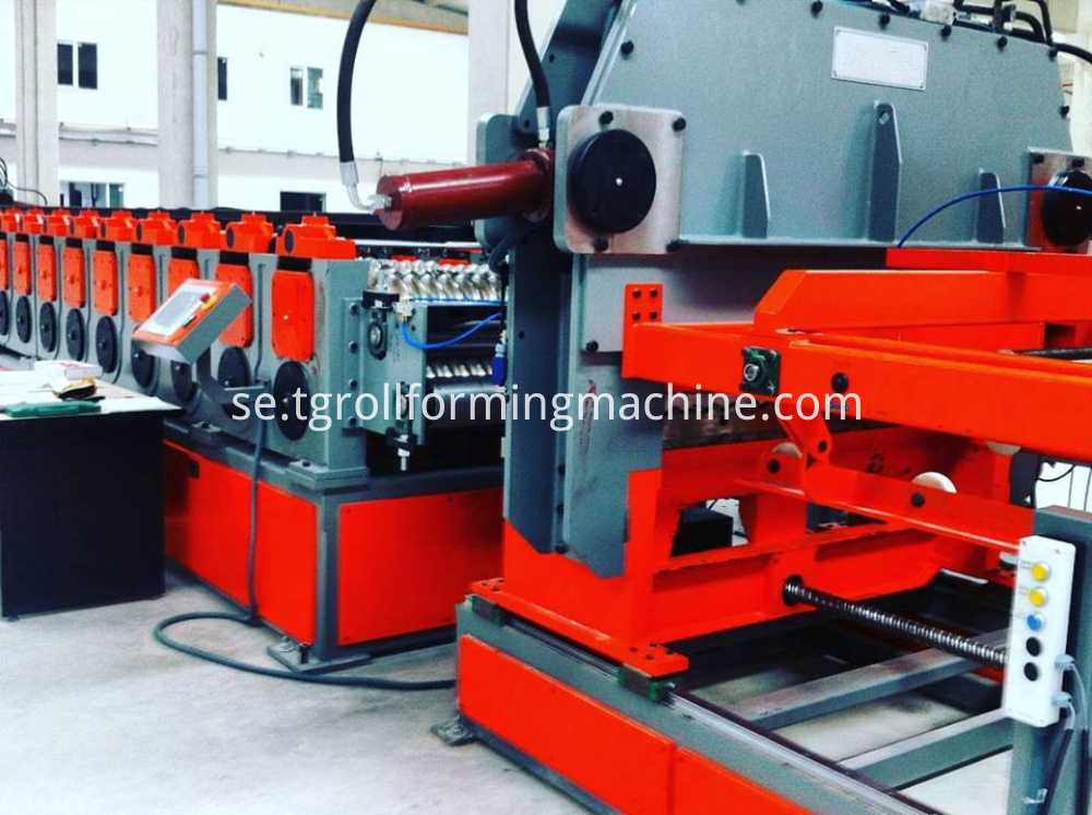 Steel Grain Bin Ganels making Machine